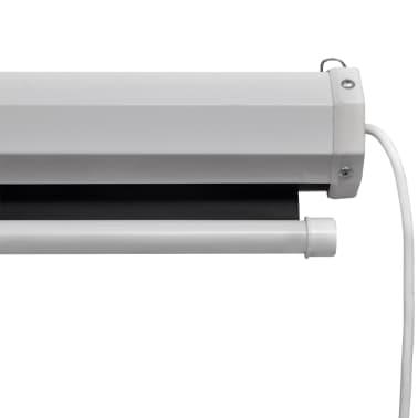 vidaXL Sähkökäyttöinen valkokangas kaukosäätimellä 160x160 cm 1:1[3/5]