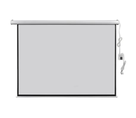 vidaXL Electric Projector Screen with Remote Control 200x153 cm 4:3[2/5]
