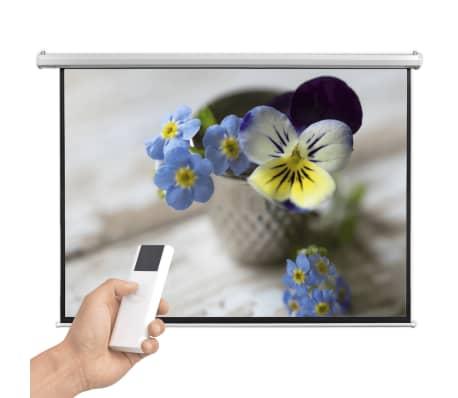 vidaXL Écran de projection électrique avec télécommande 200x153 cm 4:3[3/5]