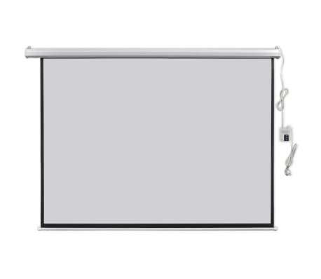 vidaXL Écran de projection électrique avec télécommande 200x153 cm 4:3[1/5]