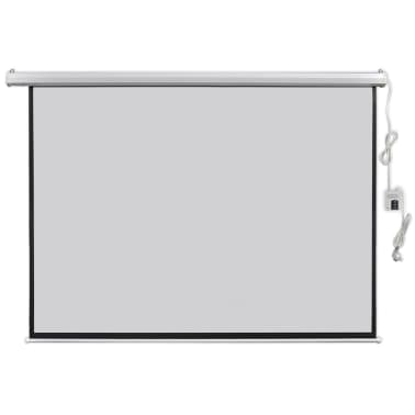 vidaXL Electric Projector Screen with Remote Control 200x153 cm 4:3[1/5]