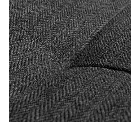 vidaXL Sofa in L-Form mit Ablagefläche aus Holz Stoff Grau XXL 300 cm[7/8]