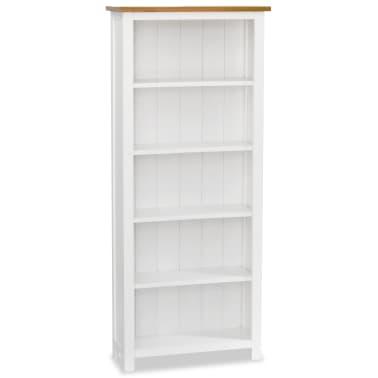vidaxl boekenkast 5 planken 60x225x140 cm massief eikenhout15