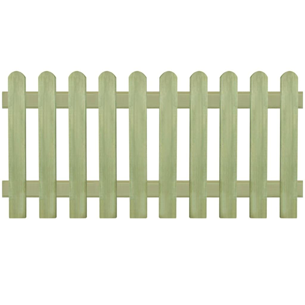 Laťkový plot impregnovaná borovice 170 x 80 cm 6/9 cm