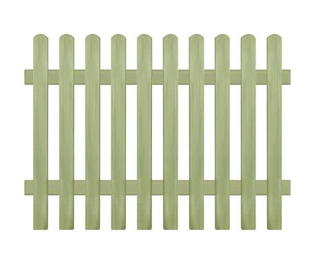 vidaXL Решетъчна ограда, импрегнирано борово дърво, 170x120 см, 6/9 см