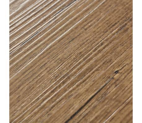 vidaXL PVC talne plošče 5,26 m² 2 mm orehovo rjave[5/8]