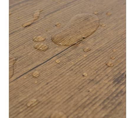 vidaXL PVC talne plošče 5,26 m² 2 mm orehovo rjave[7/8]