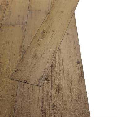 vidaXL PVC talne plošče 5,26 m² 2 mm orehovo rjave[3/8]