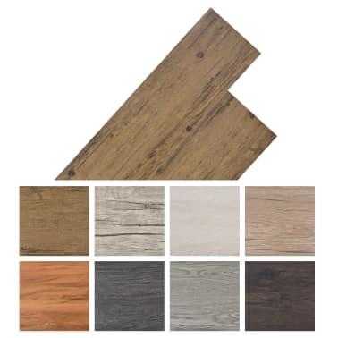 vidaXL PVC talne plošče 5,26 m² 2 mm orehovo rjave[8/8]