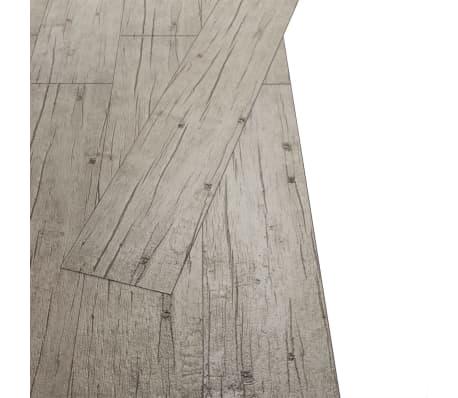 vidaXL Lamas para suelo de PVC 5,26 m² 2 mm roble[3/8]