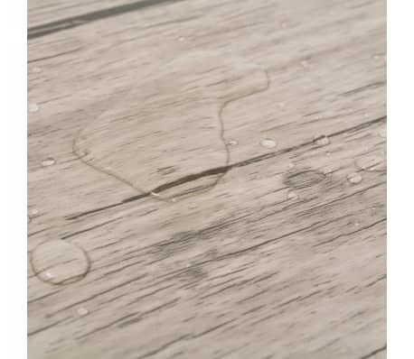 vidaXL Lamas para suelo de PVC 5,26 m² 2 mm roble[7/8]