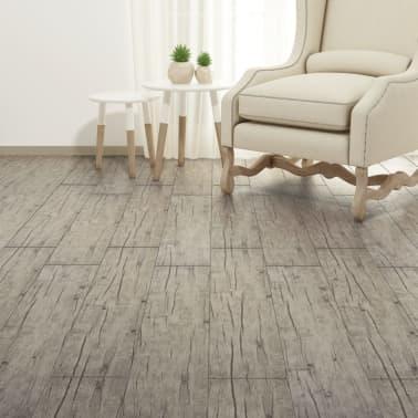 vidaXL Lamas para suelo de PVC 5,26 m² 2 mm roble[4/8]