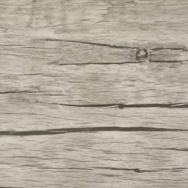 vidaXL Golvbrädor i PVC 5,26 m² ekfärgad[6/8]