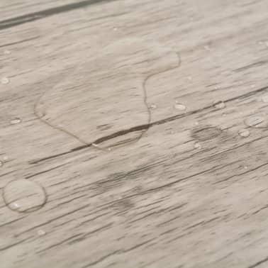 vidaXL Golvbrädor i PVC 5,26 m² ekfärgad[7/8]