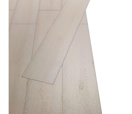 vidaXL Golvbrädor i PVC 5,26 m² ek klassisk vit[3/8]