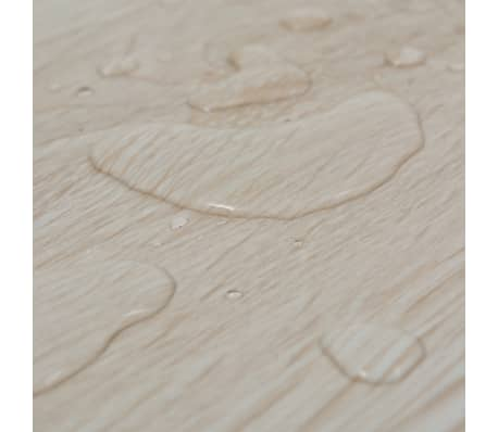 vidaXL Golvbrädor i PVC 5,26 m² ek klassisk vit[7/8]