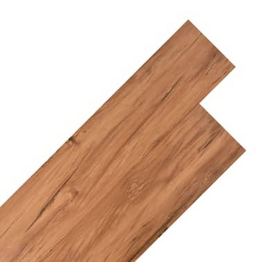 vidaXL Lama para suelo de PVC 5,26 m² 2 mm olmo natural[1/8]
