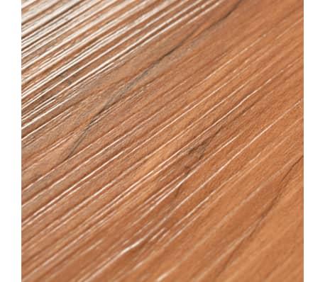 vidaXL PVC Grindų plokštės, 5,26m², 2 mm, natūrali guobos spalva[6/8]