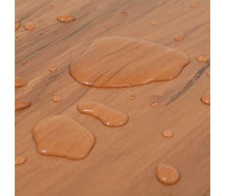 vidaXL PVC Grindų plokštės, 5,26m², 2 mm, natūrali guobos spalva[7/8]