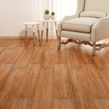 vidaXL Lama para suelo de PVC 5,26 m² 2 mm olmo natural[4/8]