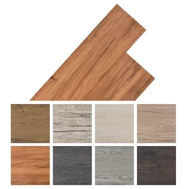 vidaXL Lama para suelo de PVC 5,26 m² 2 mm olmo natural[8/8]