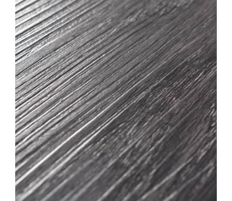vidaXL Lama para suelo de PVC 5,26 m² 2 mm negro y blanco[5/8]