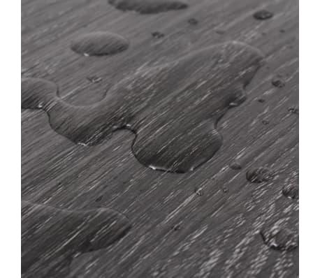 vidaXL Lama para suelo de PVC 5,26 m² 2 mm negro y blanco[7/8]
