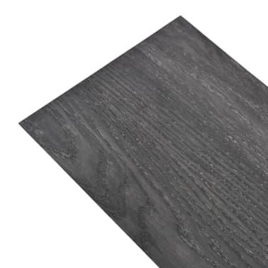 vidaXL Lama para suelo de PVC 5,26 m² 2 mm negro y blanco[2/8]