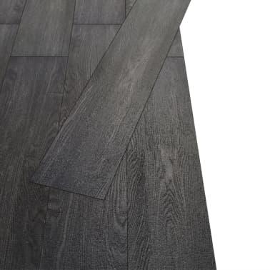 vidaXL Lama para suelo de PVC 5,26 m² 2 mm negro y blanco[3/8]