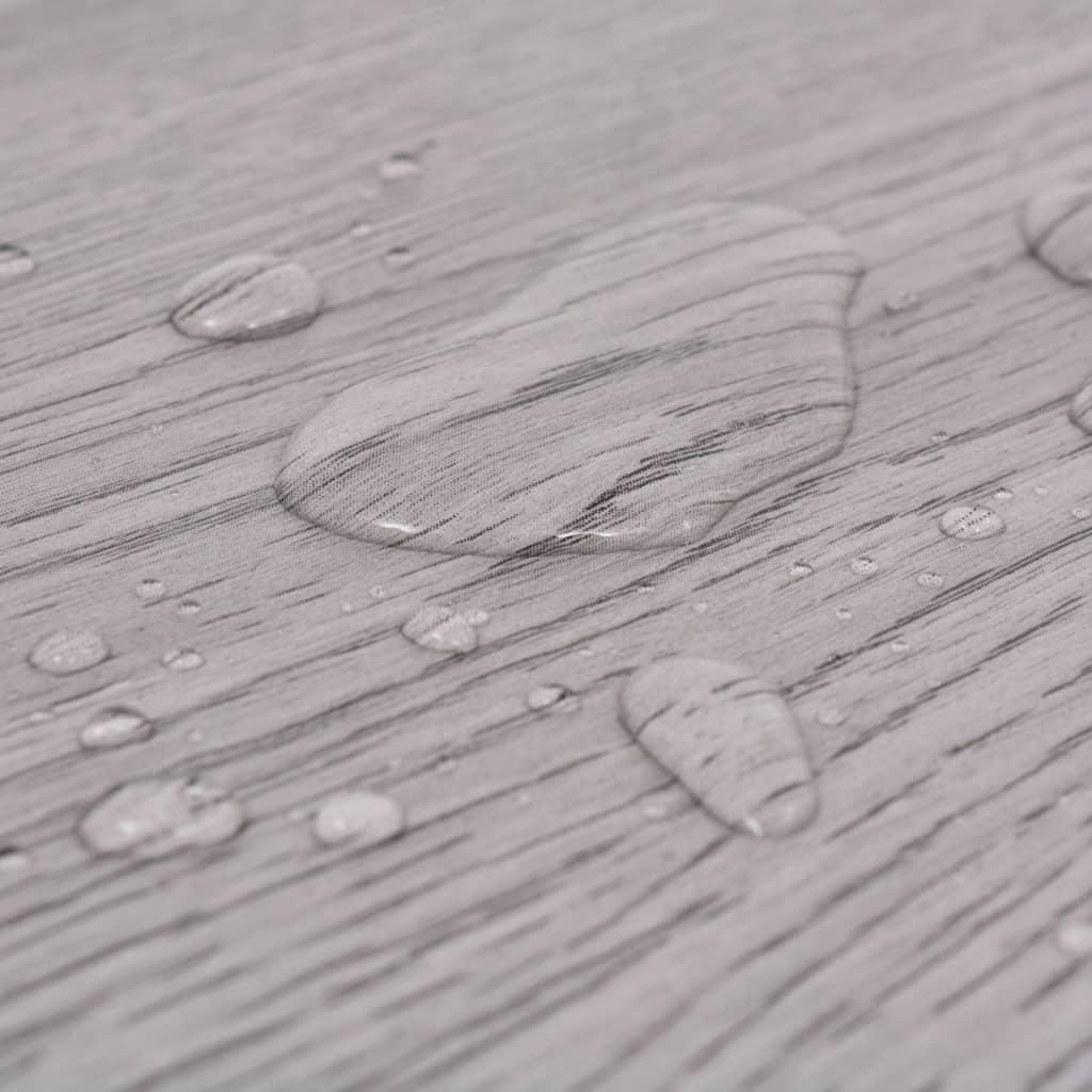 vidaXL Vloerplanken 5,26 m² 2 mm PVC donkergrijs