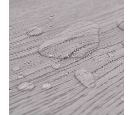 vidaXL PVC Grindų plokštės, 5,26m², 2 mm, tamsiai pilka[7/8]