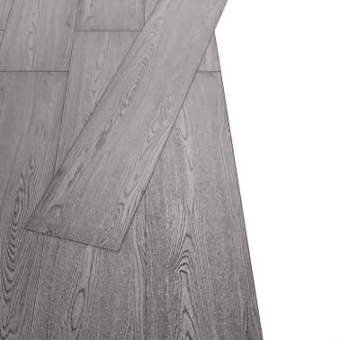 vidaXL PVC Grindų plokštės, 5,26m², 2 mm, tamsiai pilka[3/8]