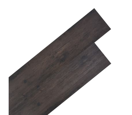 vidaXL PVC Grindų plokštės, 5,26m², 2 mm, ąžuolo tamsiai pilka[1/8]