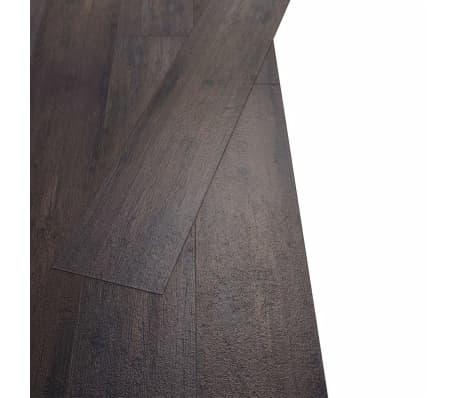 vidaXL PVC Grindų plokštės, 5,26m², 2 mm, ąžuolo tamsiai pilka[3/8]
