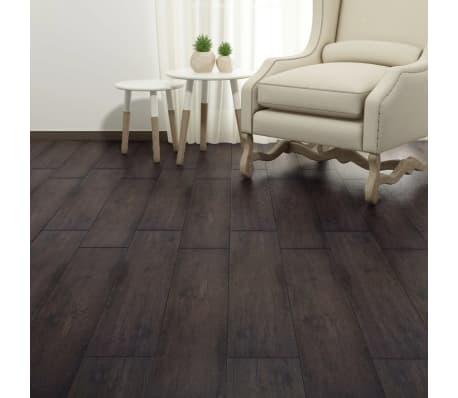 vidaXL PVC Grindų plokštės, 5,26m², 2 mm, ąžuolo tamsiai pilka[4/8]