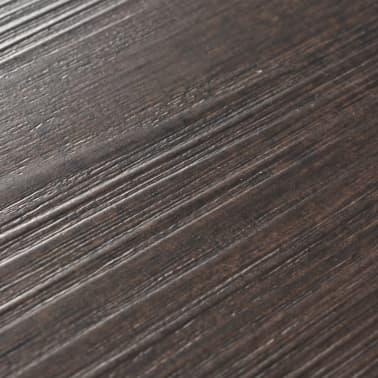 vidaXL PVC Grindų plokštės, 5,26m², 2 mm, ąžuolo tamsiai pilka[5/8]