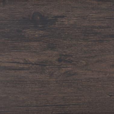 vidaXL PVC Grindų plokštės, 5,26m², 2 mm, ąžuolo tamsiai pilka[6/8]
