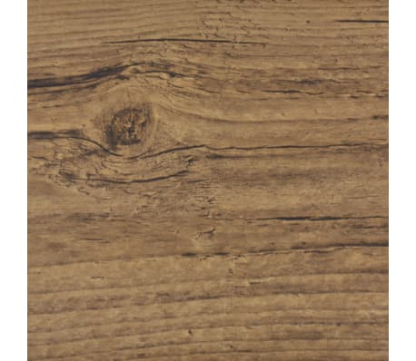 vidaXL Self-adhesive PVC Flooring Planks 54 ft² Walnut Brown[5/8]