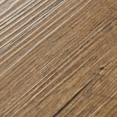 vidaXL Self-adhesive PVC Flooring Planks 54 ft² Walnut Brown[6/8]