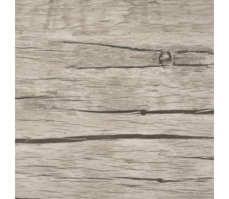 vidaXL Self-adhesive PVC Flooring Planks 54 ft² Oak Washed[5/8]
