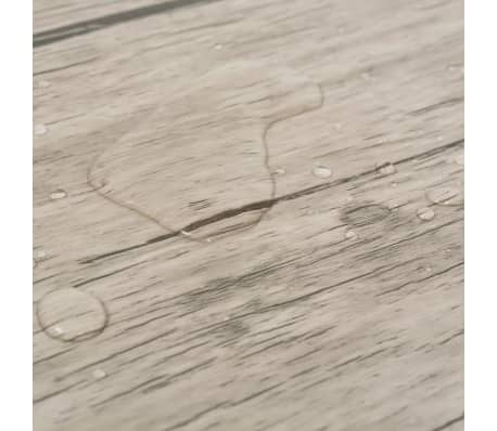 vidaXL Self-adhesive PVC Flooring Planks 54 ft² Oak Washed[7/8]