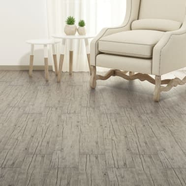 vidaXL Self-adhesive PVC Flooring Planks 54 ft² Oak Washed[2/8]