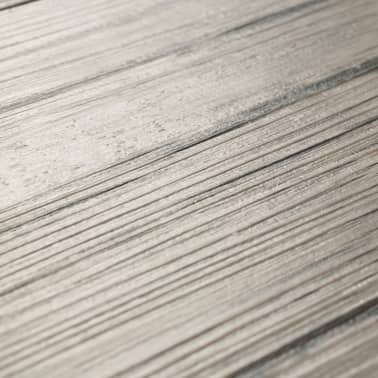 vidaXL Self-adhesive PVC Flooring Planks 54 ft² Oak Washed[6/8]