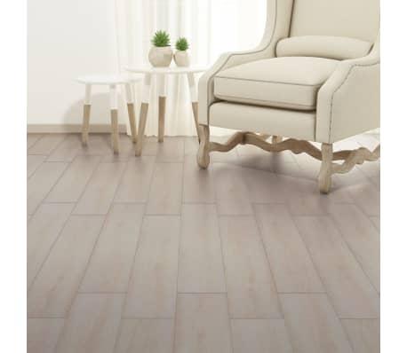 vidaXL Grindų plokštės, PVC, prilipd., 5,02m², 2mm, ąž. balšva spalva[4/8]