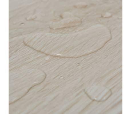 vidaXL Self-adhesive PVC Flooring Planks 54 ft² Oak Classic White[7/8]