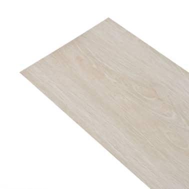 vidaXL Self-adhesive PVC Flooring Planks 54 ft² Oak Classic White[2/8]