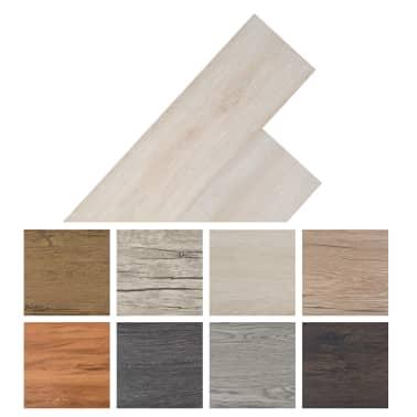 vidaXL Grindų plokštės, PVC, prilipd., 5,02m², 2mm, ąž. balšva spalva[8/8]