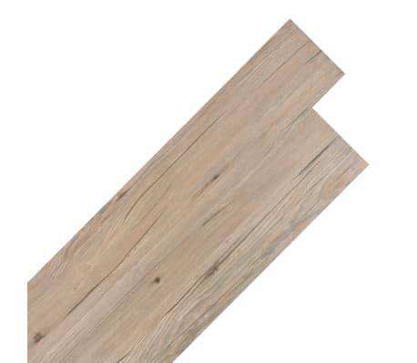 vidaXL Self-adhesive PVC Flooring Planks 54 ft² Oak Brown[1/8]