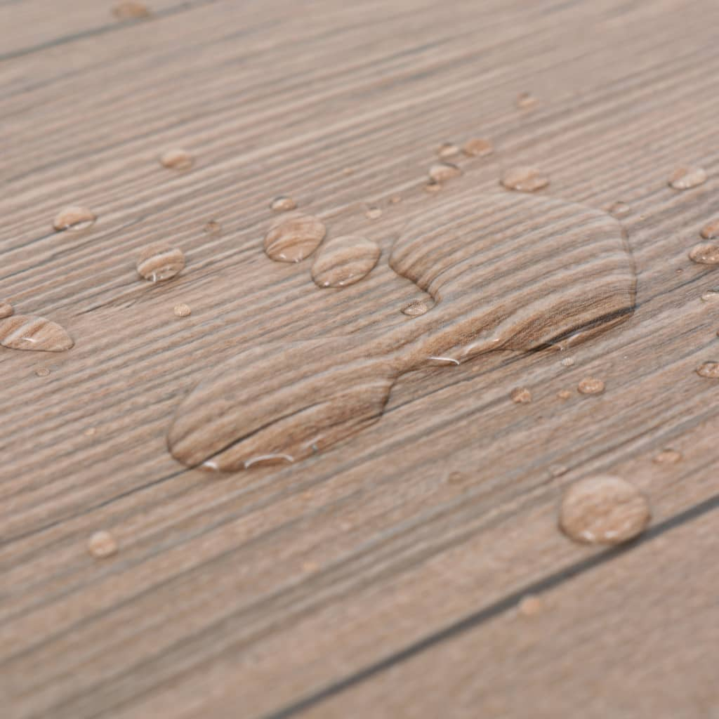 vidaXL Vloerplanken zelfklevend 5,02 m² 2 mm PVC eiken bruin