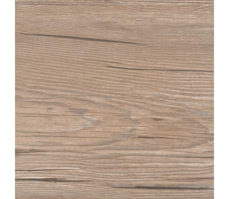 vidaXL Self-adhesive PVC Flooring Planks 54 ft² Oak Brown[5/8]